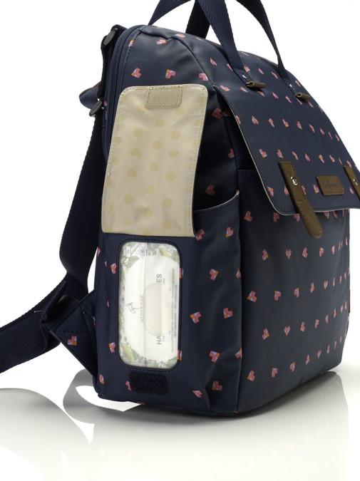 c97cefdfd2 batoh a přebalovací taška Robyn Backpack Origami Heart - Přebalovací ...